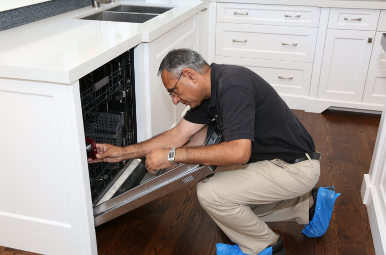 Built-In Kitchen Appliance Inspection
